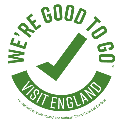 Visit England - We're Good to Go Logo