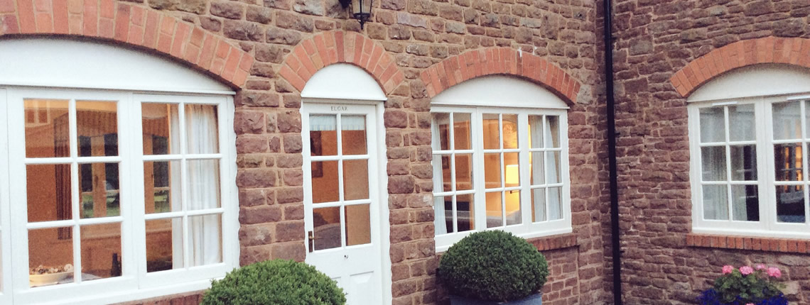 Elgar Cottage, luxury holiday cottages in the Wye Valley, close to the Forest of Dean