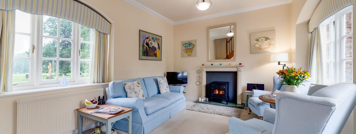 Elgar Cottage, luxury holiday accommodaion in the Wye Valley, close to Ross-on-Wye